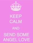 Keep Calm Angel Love